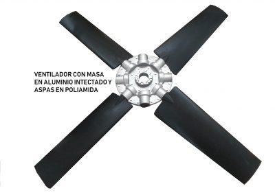 ventilador poliamida.